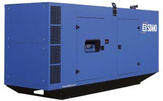 SDMO D550 в шумозащитном кожухе