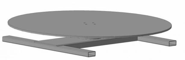 Пневмостройтехника Выдвижной поворотный стол 800 мм