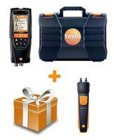 Testo 320 с H2-компенсацией, +смарт зонд 510i