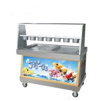 Foodatlas KCB-2Y (контейнеры, стол для топпингов, 2 компрессора)