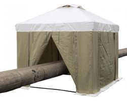 Tent 2,5Х2,0 (М) ПВХ+Брезент. Каркас из квадратной трубы 20Х20 мм.