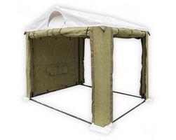 Tent 2,5Х2,5 ( М ) ПВХ+Брезент. Усиленный каркас труба 25мм.