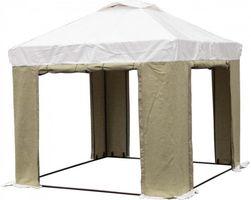 Tent 3Х3 ( М ) ПВХ+Брезент. Усиленный каркас труба 25мм.