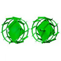 Aurora Грунтозацепы для пахоты 405x200мм (комплект из 2х колес), 23 мм