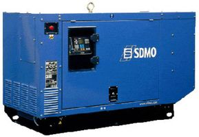 SDMO J33 в шумозащитном кожухе