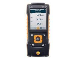 Testo Прибор для измерения скорости и оценки качества воздуха 440 dP