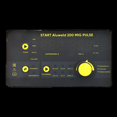 START ALUWELD 200 MIG PULSE