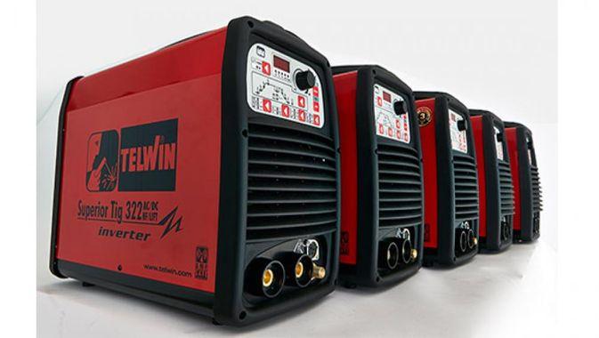 Telwin SUPERIOR TIG 322 AC/DC HF/LIFT 400V с аксессуарами