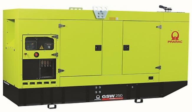 Pramac GSW250P в кожухе