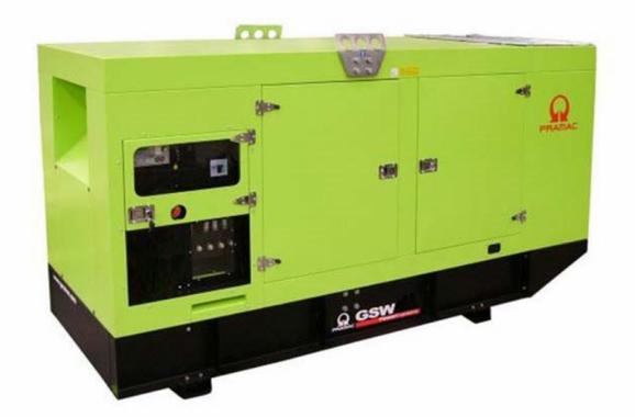 Pramac GSW460V в кожухе