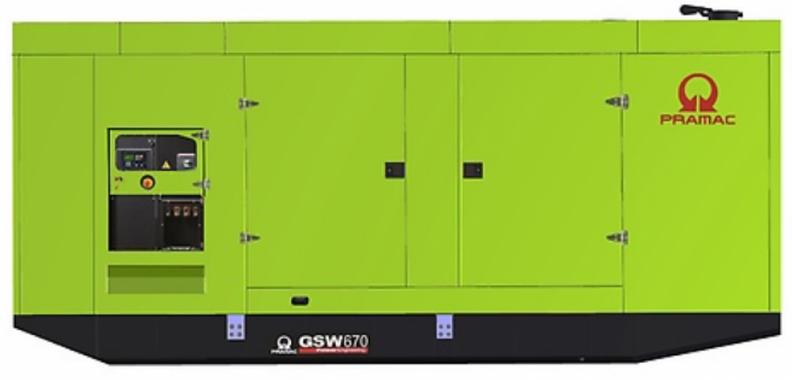 Pramac GSW670P в кожухе