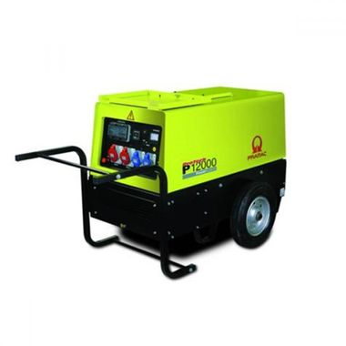 Pramac P12000, 400/230V, 50Hz CONN WHEEL KIT